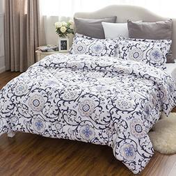 King Comforter Set Classics Traditional European Roll Grass