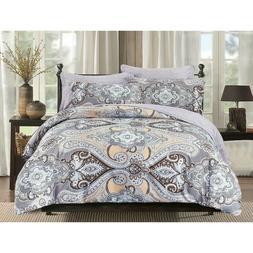 HGmart King Size Bedding Comforter Set Bed In A Bag 5 Pieces