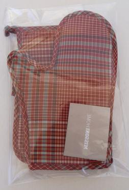 MISSONI HOME KITCHEN SET 1 APRON 2 OVEN MITTS 1 OVEN GLOVE M