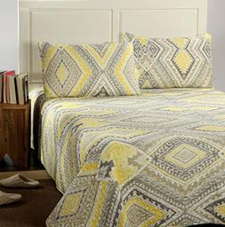 kst1503 summer diamond reversible bedspread