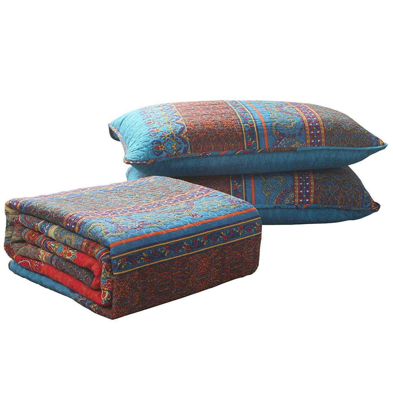 Exclusivo 100% Size Quilt Set/Bedspread