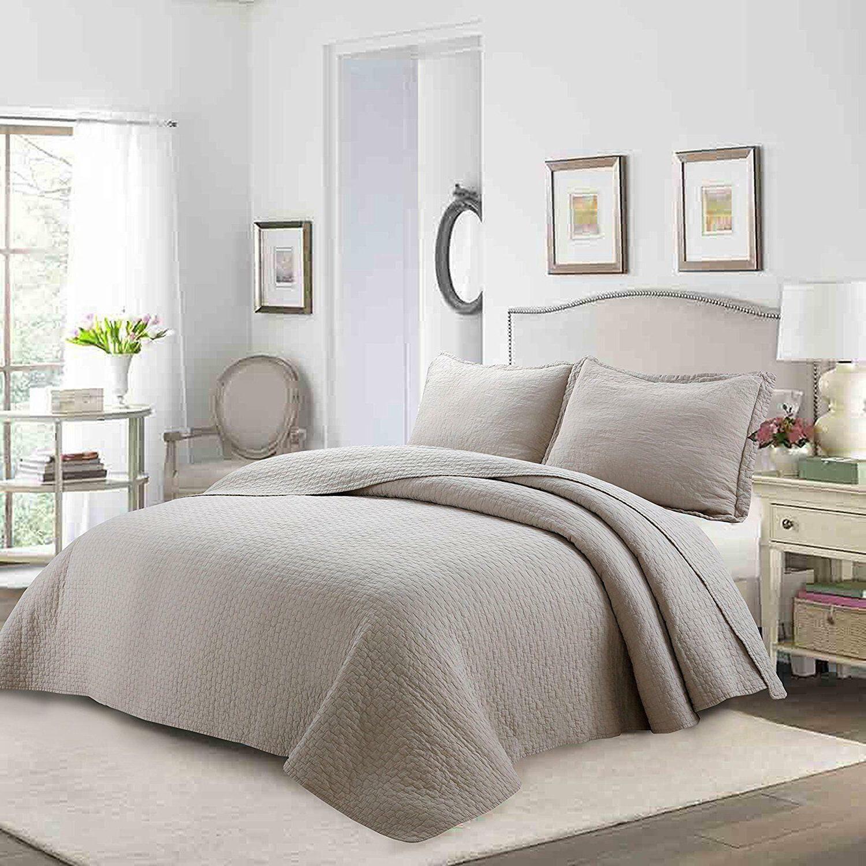 100 percent cotton quilt set bedspread lightweight