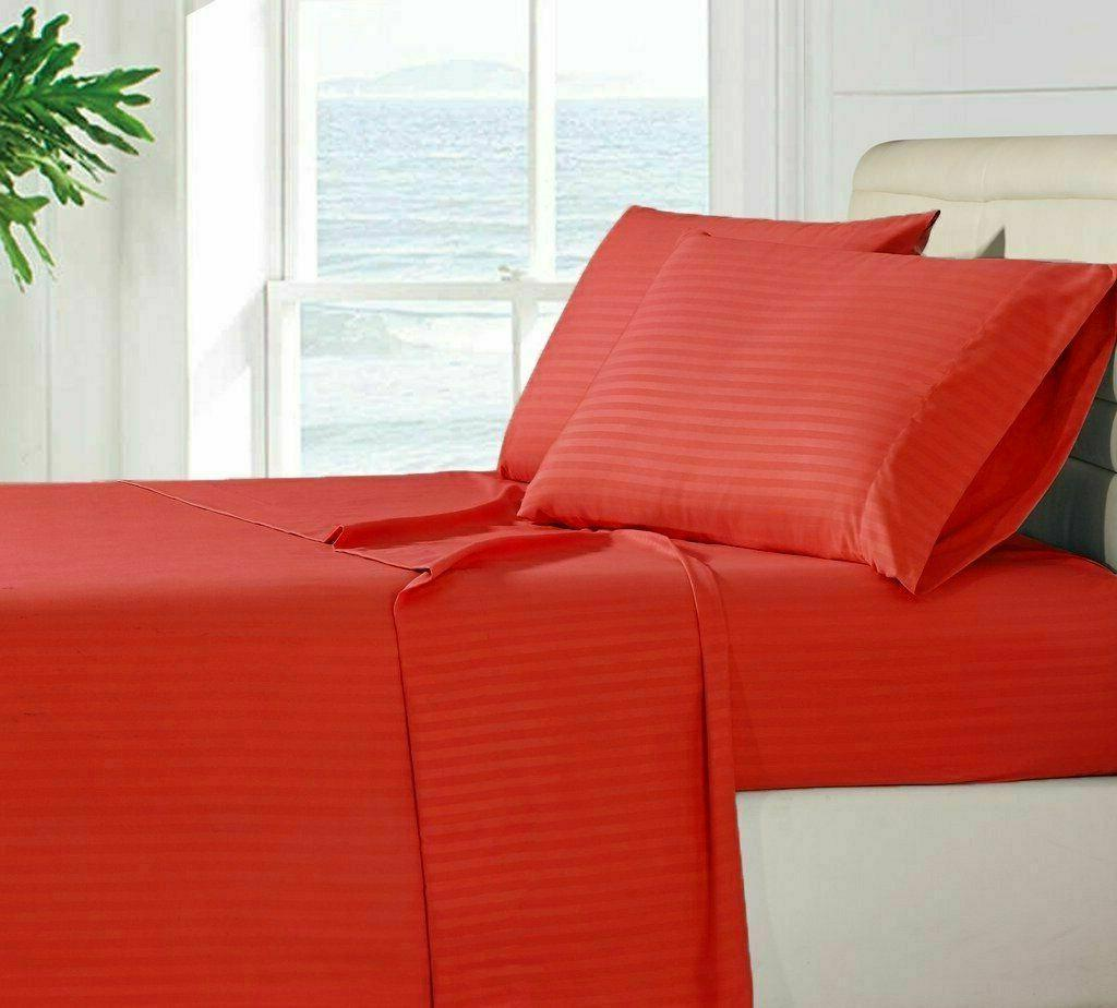 1800 Count Bedding 4 Piece Bed Sheet Set Egyptian Comfort De