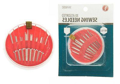 1pk Sewing Needle Set Mending Craft Case
