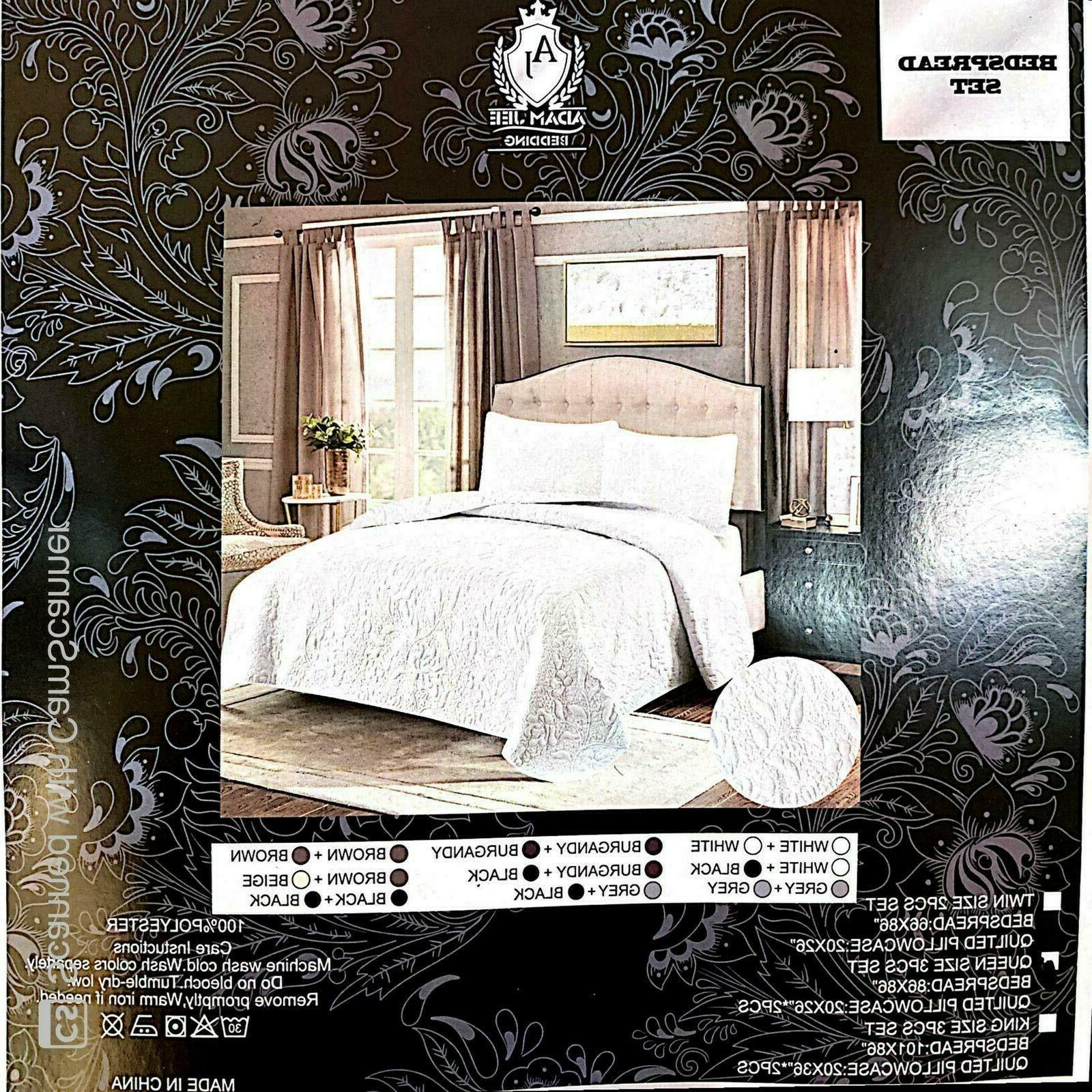 Spread Coverlet Bedding Queen Twin