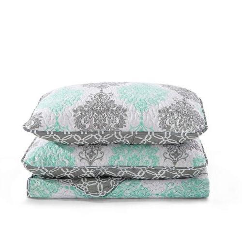 2/3 Piece Coverlet Set Twin King Spring