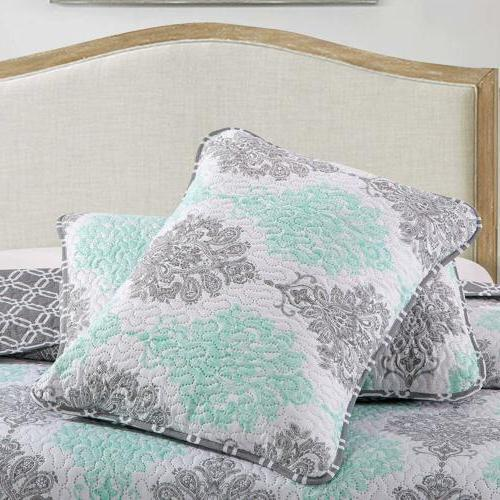 2/3 Bed Coverlet Twin King with Spring