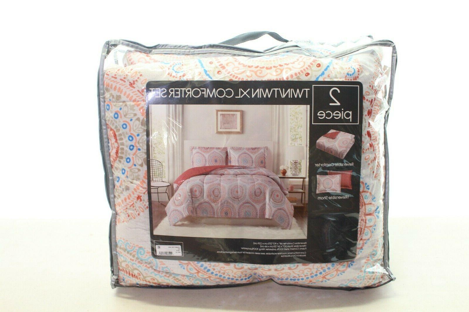 Pem 2 Twin/Twin XL Comforter Modern