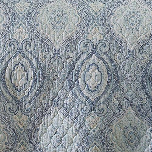Tommy 220637 Cove Quilt King, Harbor Blue