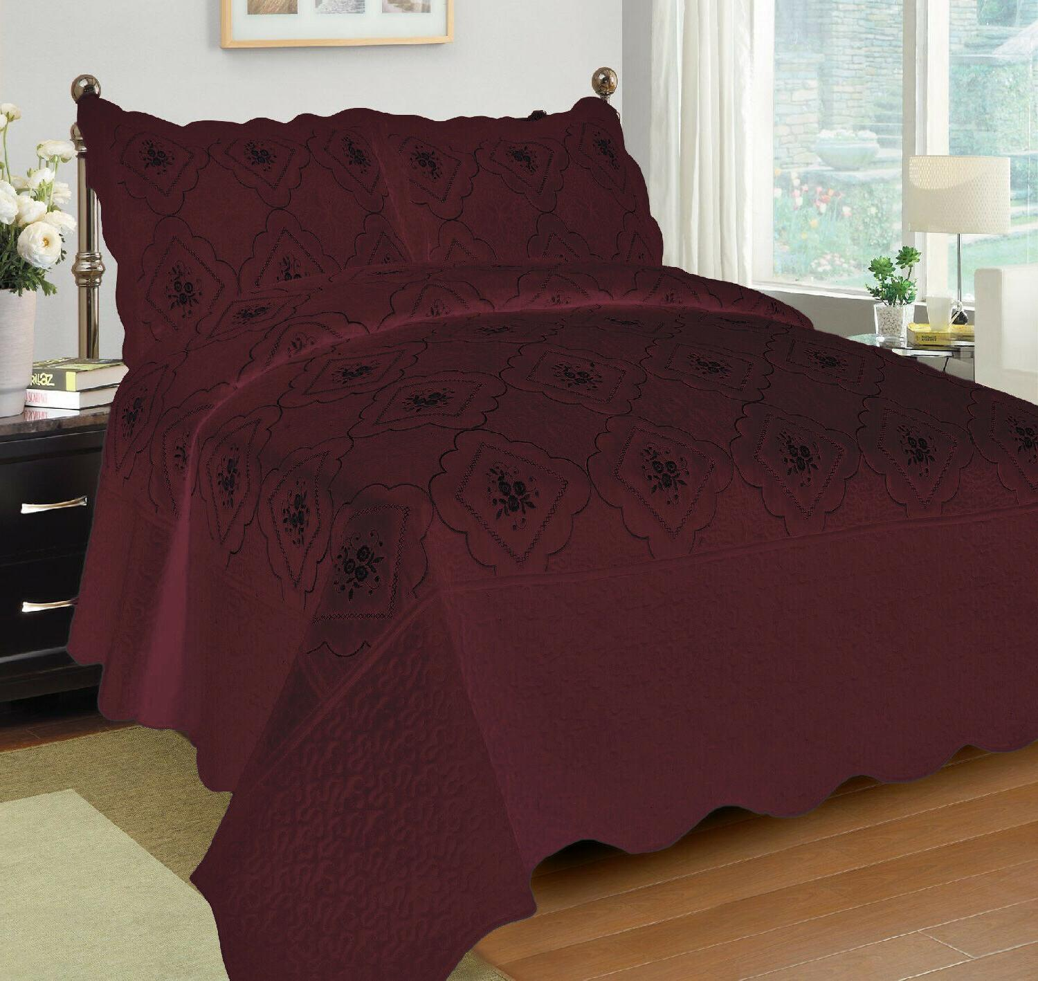 Quilted Cover Coverlet