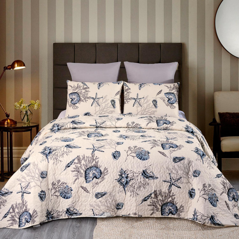 3-Piece Quilt Set Bedspread and