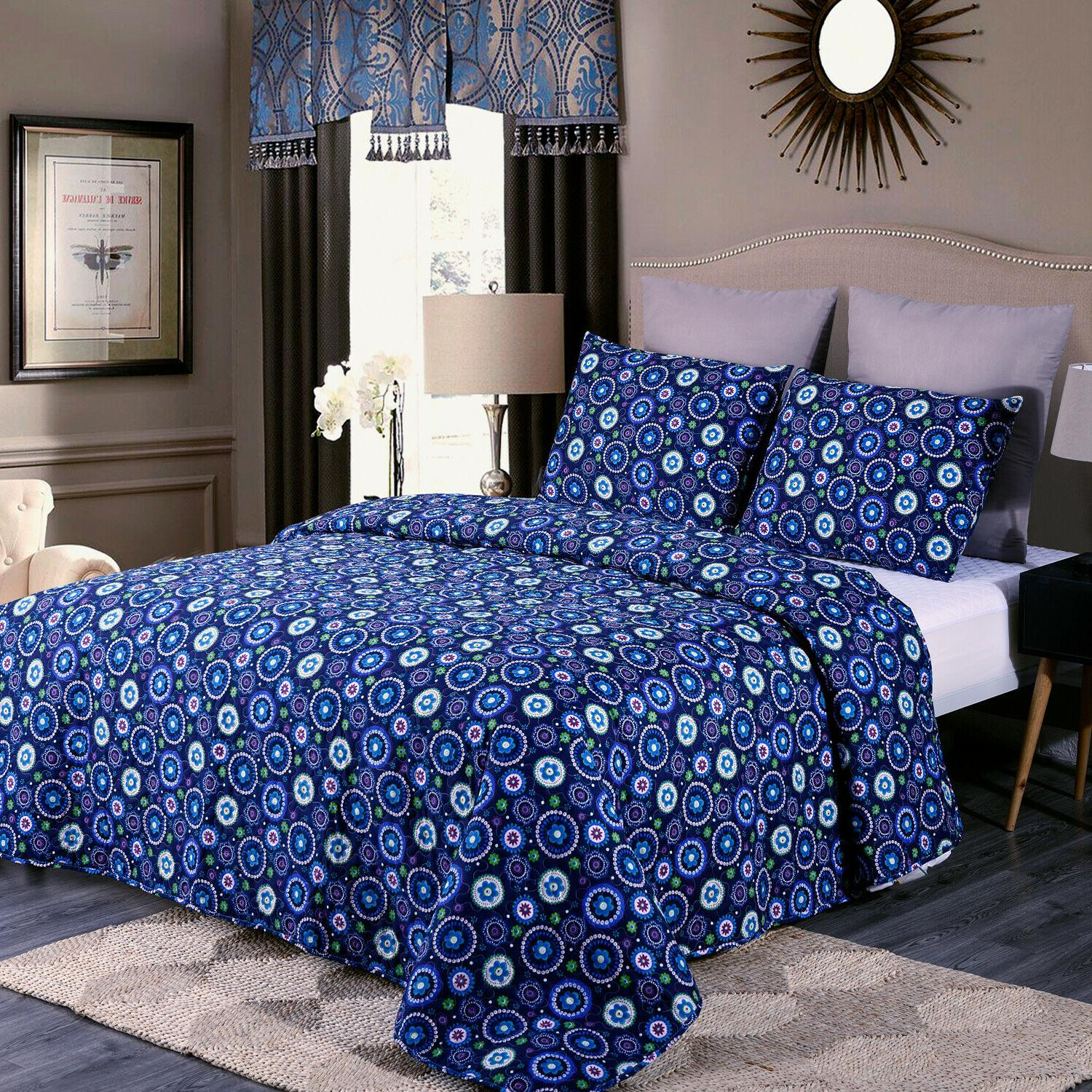 3-Piece Beach Set Bedspread