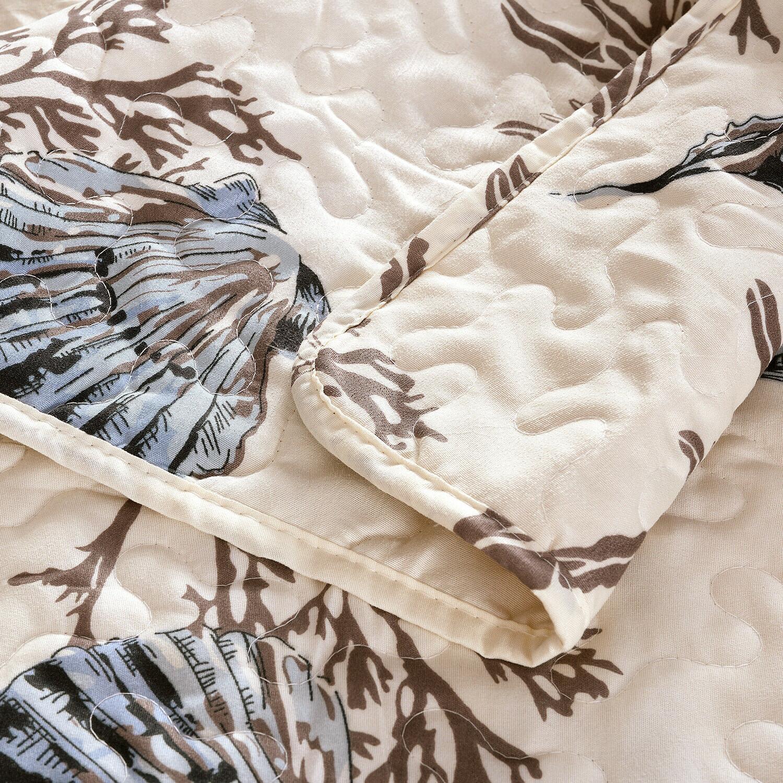 3-Piece Set Shams Bedspread and