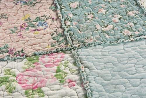 3-Piece Washed 100% Bedspread