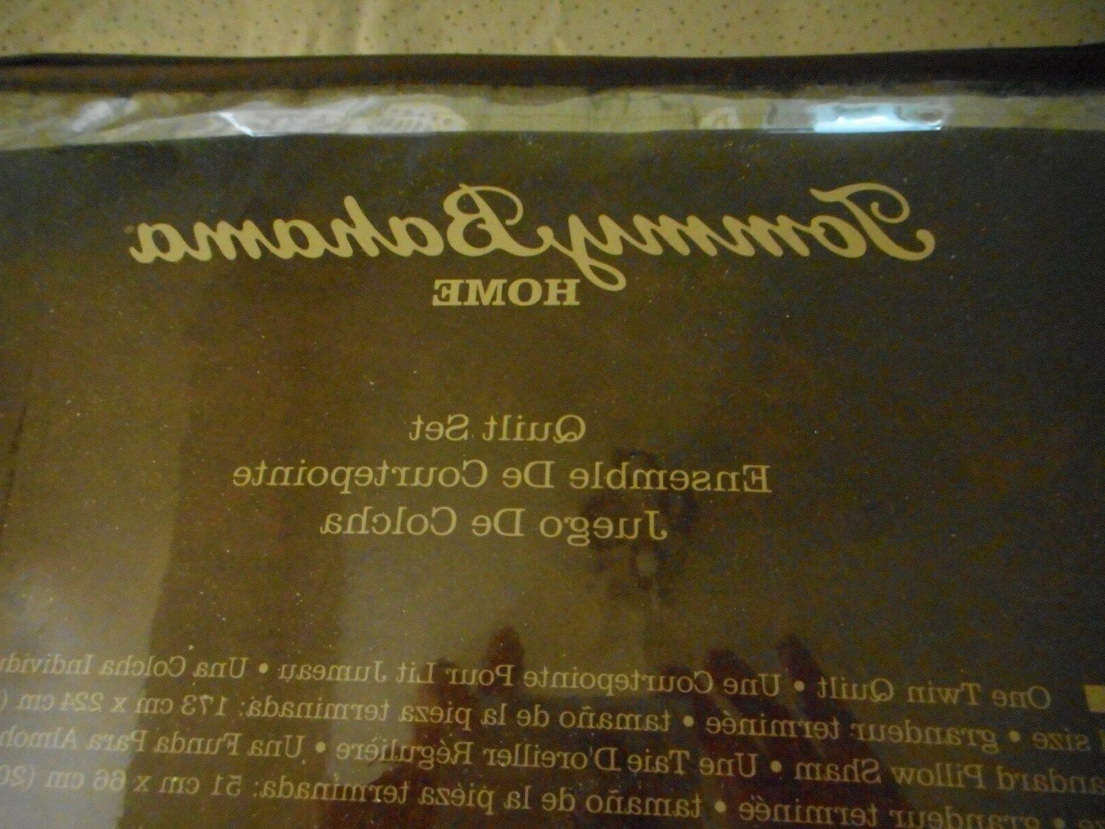 Tommy 3-Piece Quilt Sham