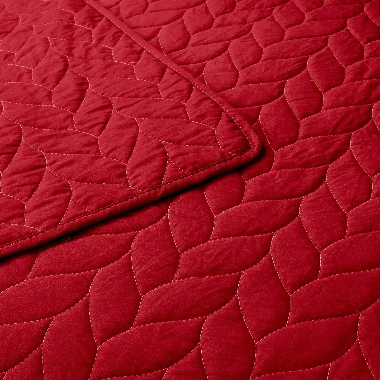 3 Lightweight Quilt Set Microfiber Prewashed, Queen
