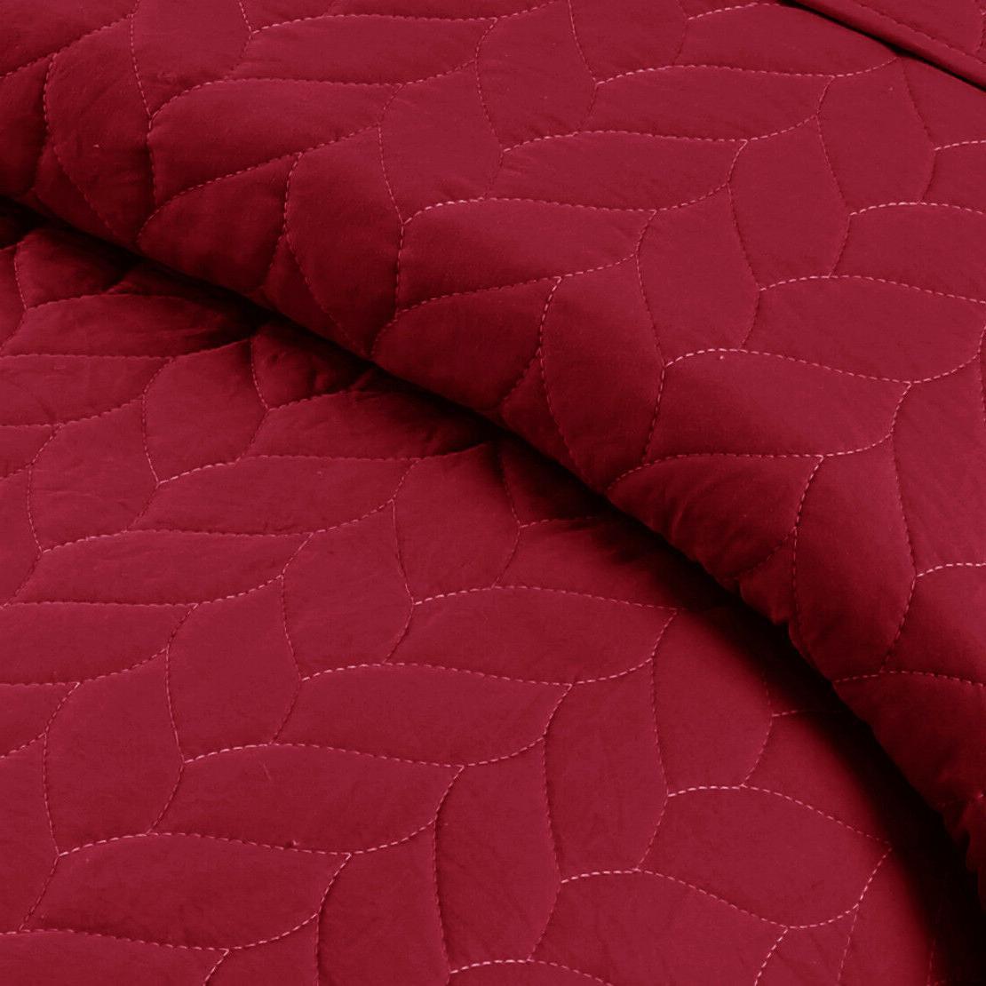 3 Lightweight Bedspread Quilt Set