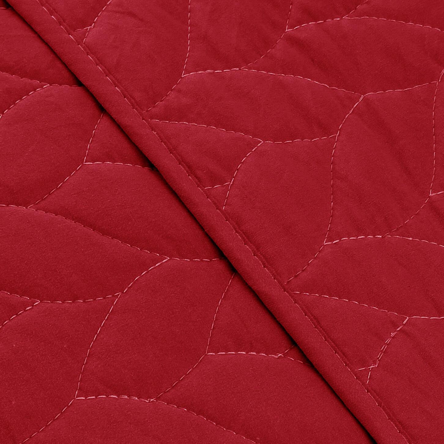 3 Piece Lightweight Bedspread Prewashed, Queen King