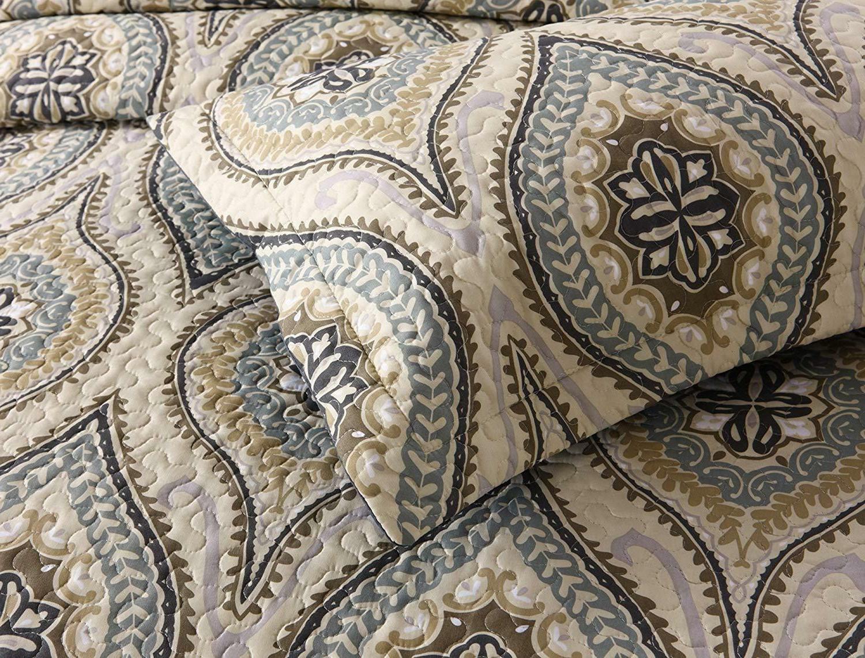 3 Piece Lightweight Quilt King Bedding Lightweight