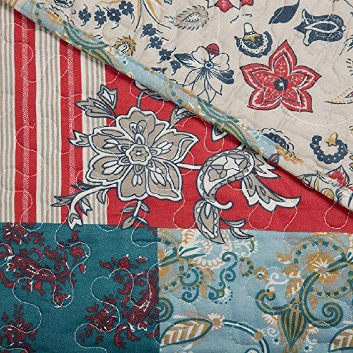 Lavish Home Mallory Quilt Set,