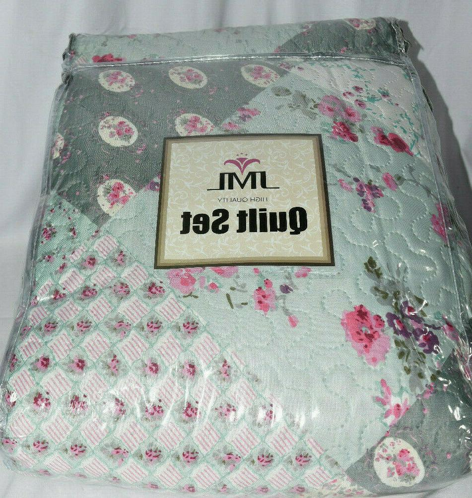 3 Piece Bedding Set- And Queen