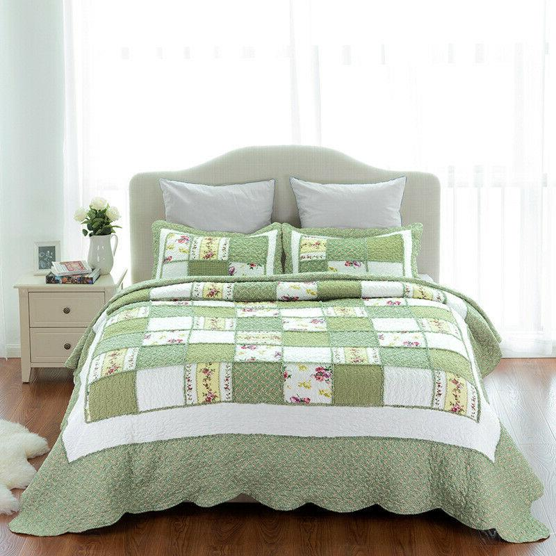 Bedsure 3 Piece Quilt Coverlet Quilt Queen