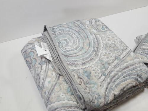 Comfort Quilt Coverlet Full/Queen, Grey