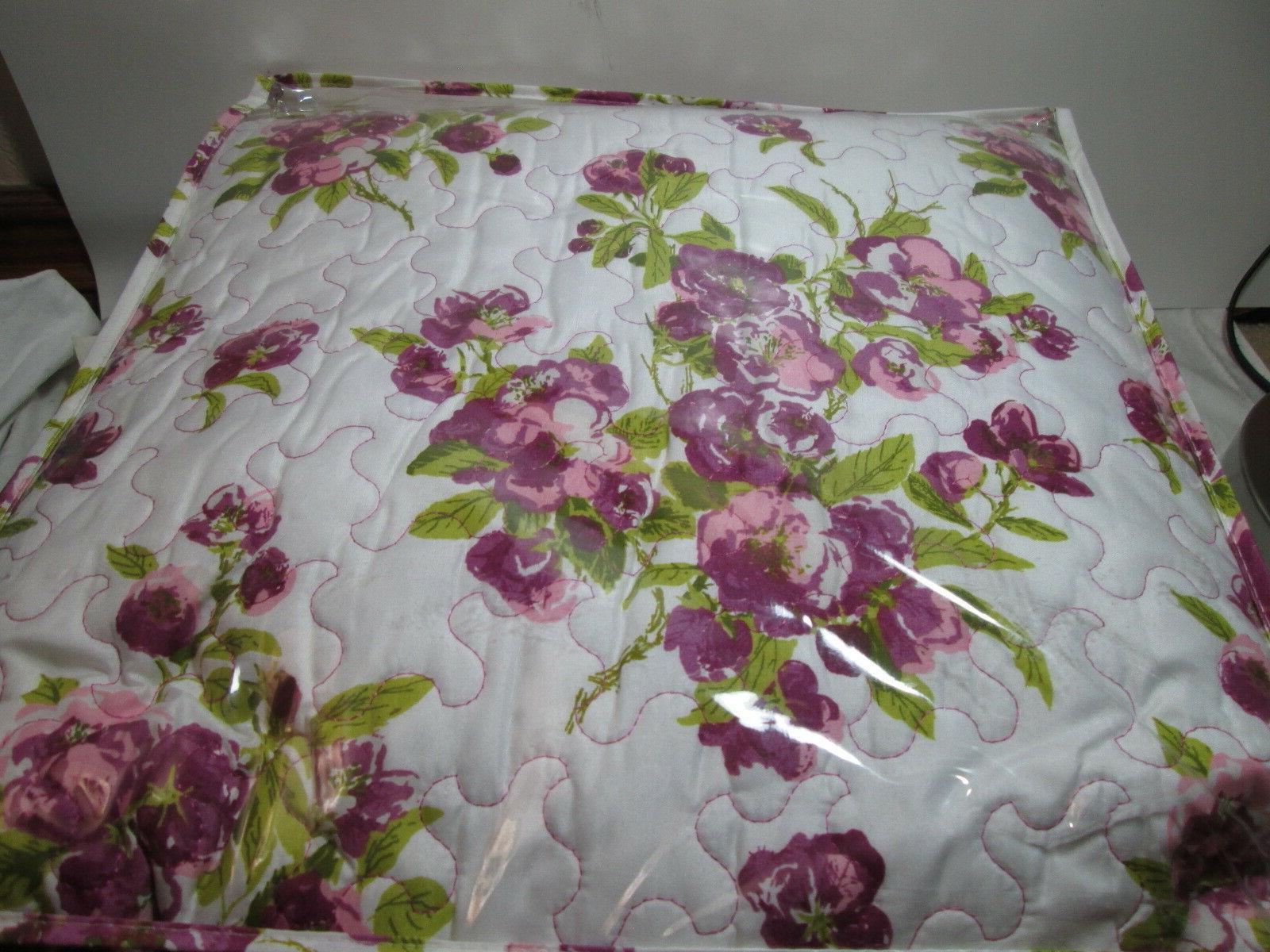 3 pieces Waverly PRIMROSE Violet Floral NEW