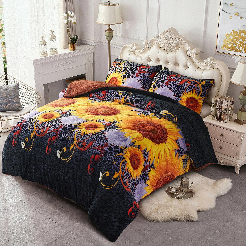 Fleece Set Comforter Q/K/Cal King