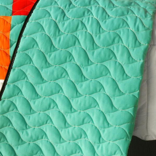 3PC Patchwork Quilt Kaleidoscope