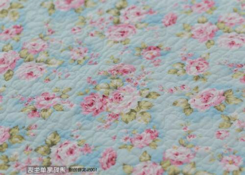3PCS Rose 100% Cotton Coverlet