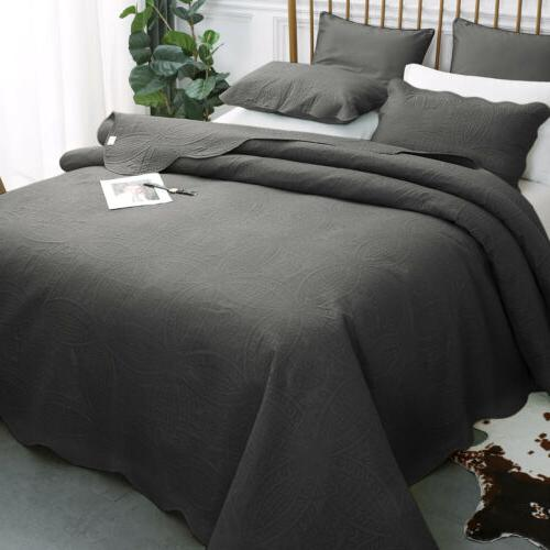 50 percent off luxury bedspread coverlet set