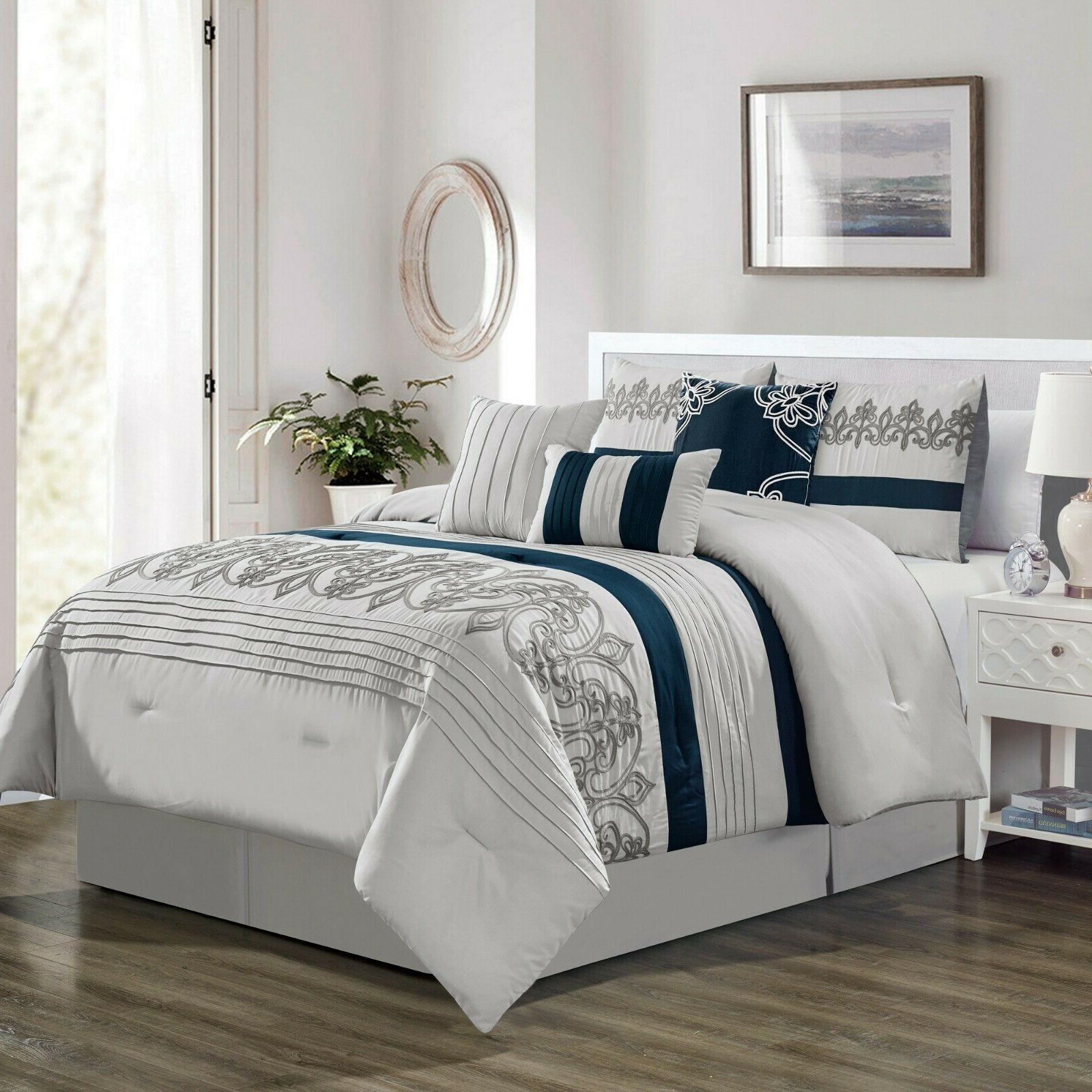 7 Comforter Set - Bed a Bag King Queen Cal