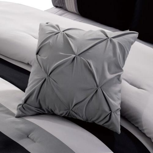 Chezmoi Leaves Comforter Set