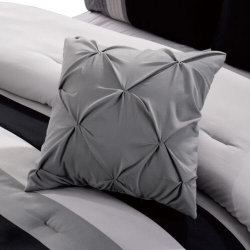 Chezmoi Luxury Leaves Scroll Comforter