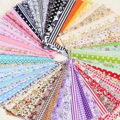 7 Pieces Assorted Quarter Bundle Quilt Cotton Set