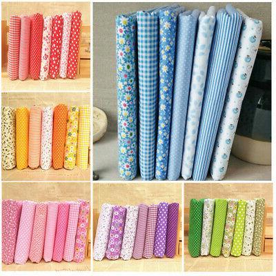 7 Quarter Bundle Quilt Cotton Fabric Set
