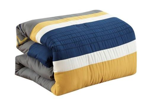 7 Pieces Modern Comforter Set