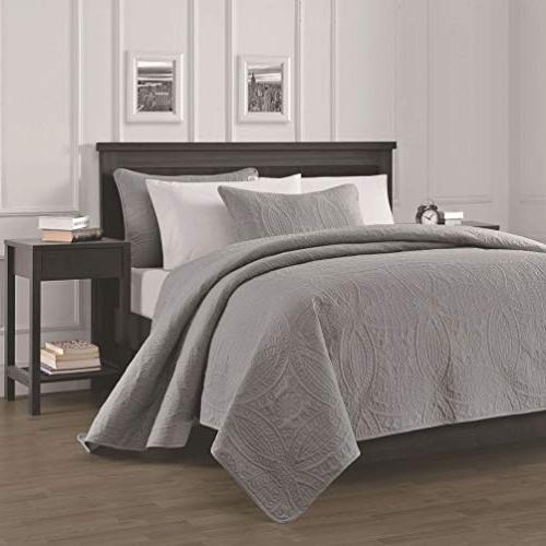 Chezmoi Collection Austin Oversized Bedspread Coverlet