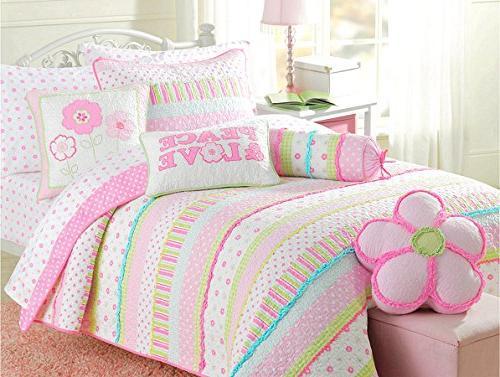 quilt bedding set flower cotton