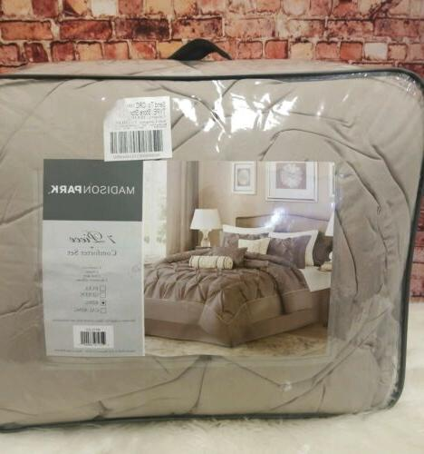 Madison Park Laurel King Size Bed Comforter Set