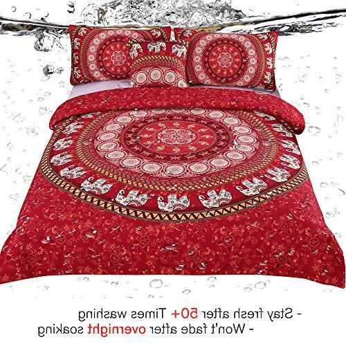 Sleepwish Mandala Bedding Pieces Bohemian Elephant Set Boho Full