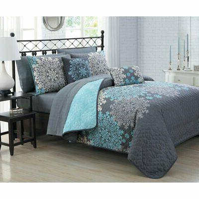 amber 9 piece quilt set by
