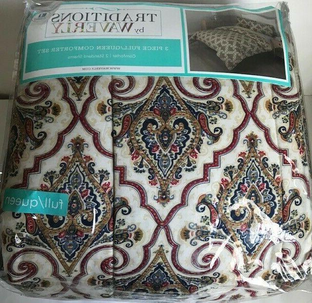 anatalya jewel 3 piece full queen comforter
