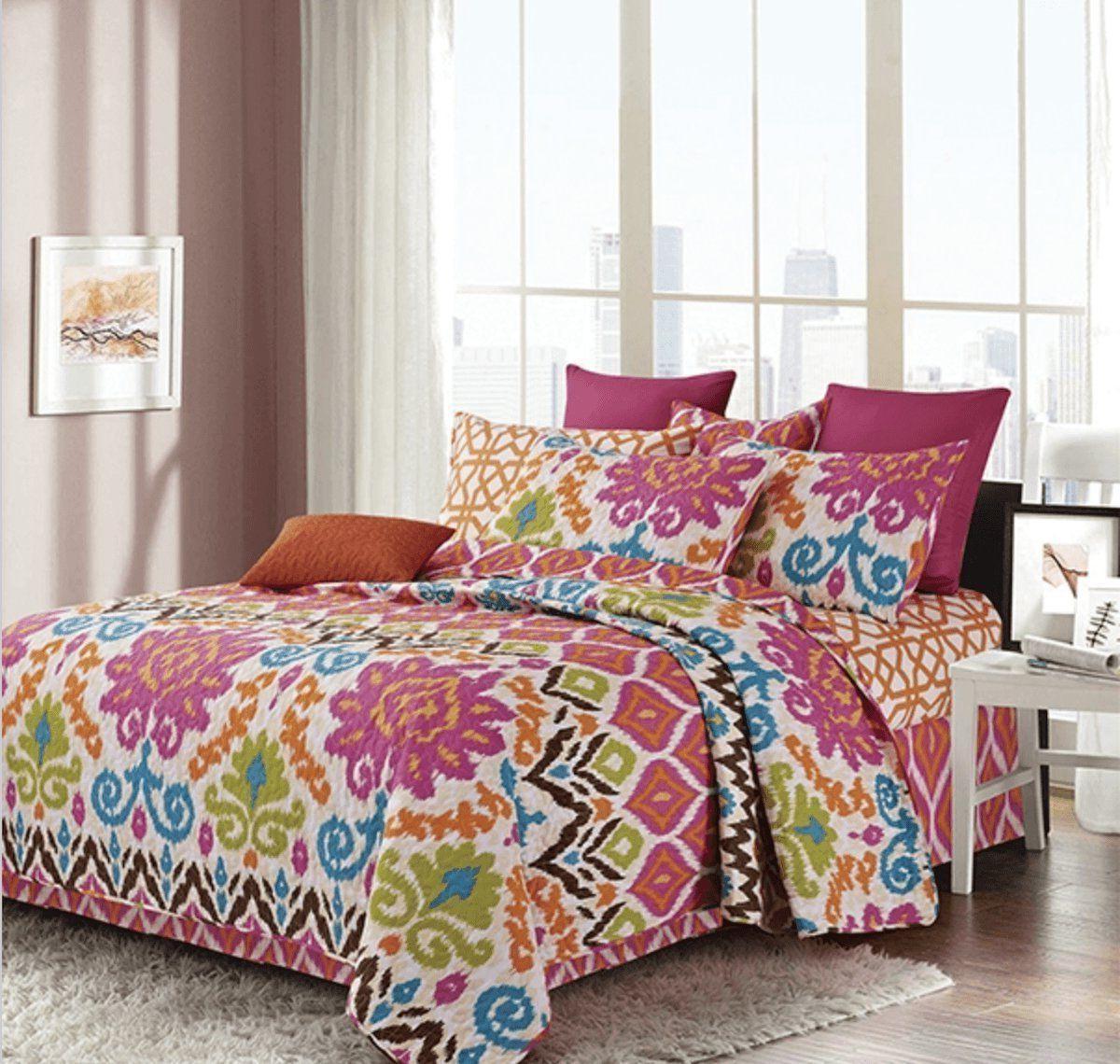 anisa printed quilt sham set