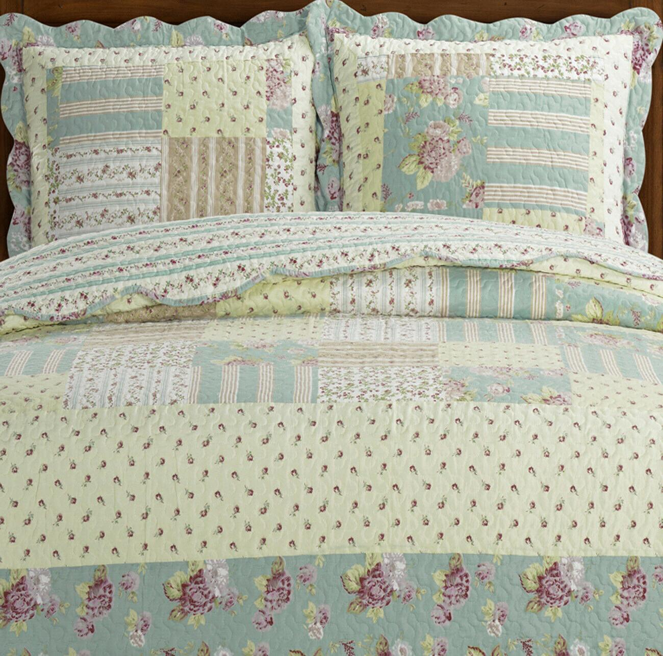 Annabel Luxury Quilted 3 Piece Sweet Home