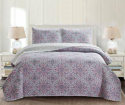 Charlton Home Anthonyville Reversible Quilt Set