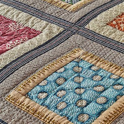 Artiz Home Sale Square Set 3pcs Bedspread Shams Patchwork