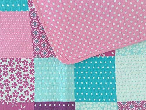 Cozy Line Home Ballerina Dance Princess Light Purple Bedspread for Girl