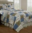 Be-you-tiful Home CC555TSET Campanille Handmade Patchwork Qu